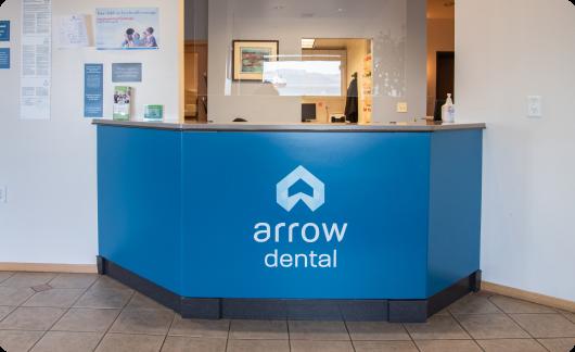 Arrow Dental Astoria office interior
