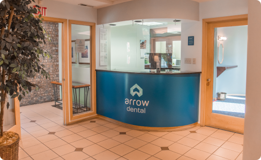 Arrow Dental Clatskanie office interior