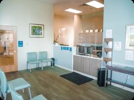 Arrow Dental Eugene interior office