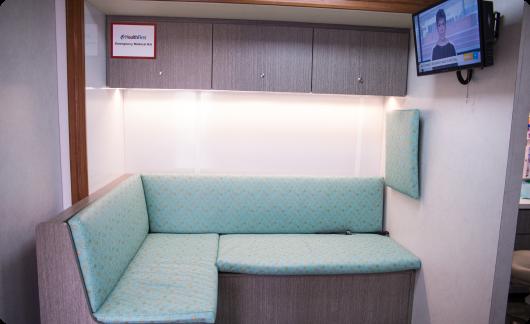 Arrow Dental Mobile Dental Clinic interior